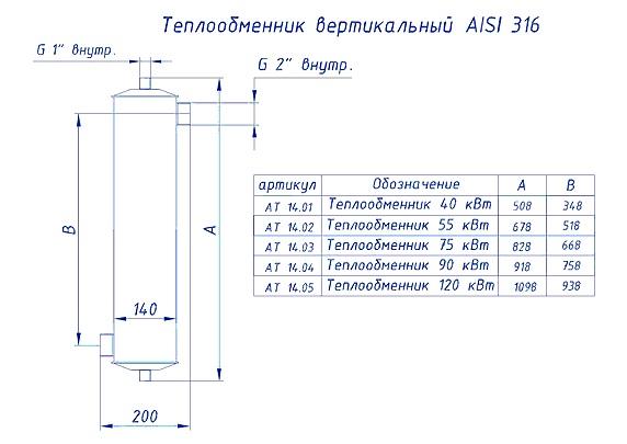 Теплообменник акватехника 75 квт шкода суперб теплообменник